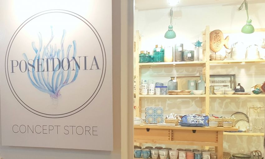 Happy decoration and clothing to fair prices fabricated with love to details - Poseidonia Concept Store!